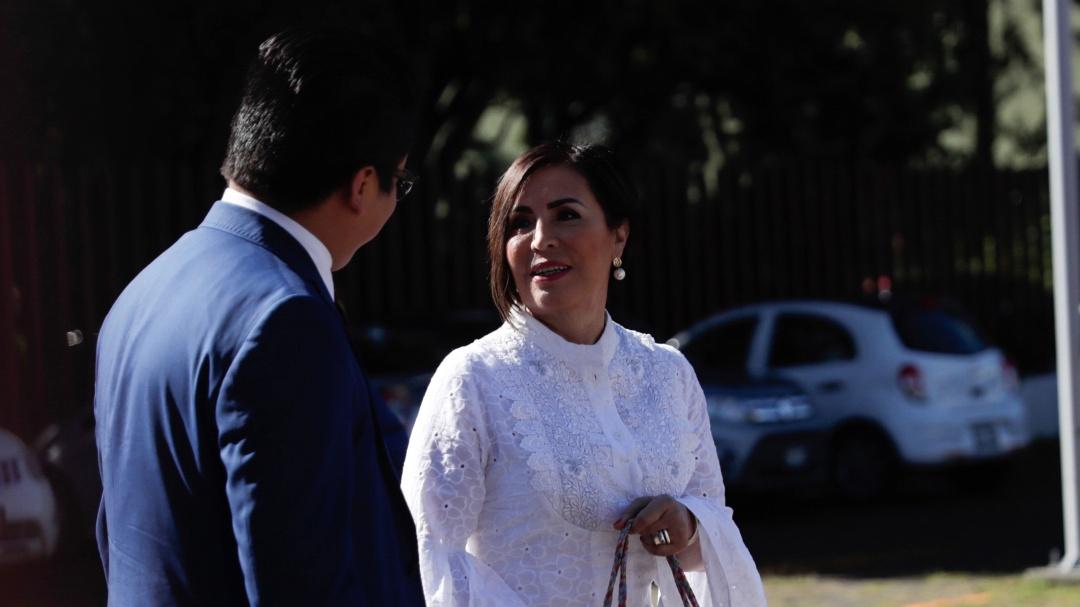 Vengo con las faldas bien puestas: Rosario Robles