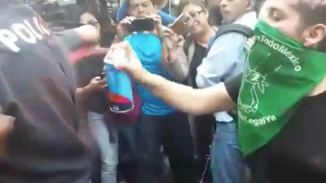En videos así fue la protesta contra caso de abuso