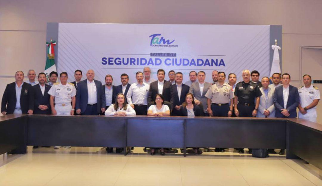 Gobierno de Tamaulipas define acciones de seguridad y justicia