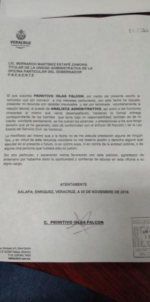 Oficina particular de Yunes contrató a homicida de exalcaldesa