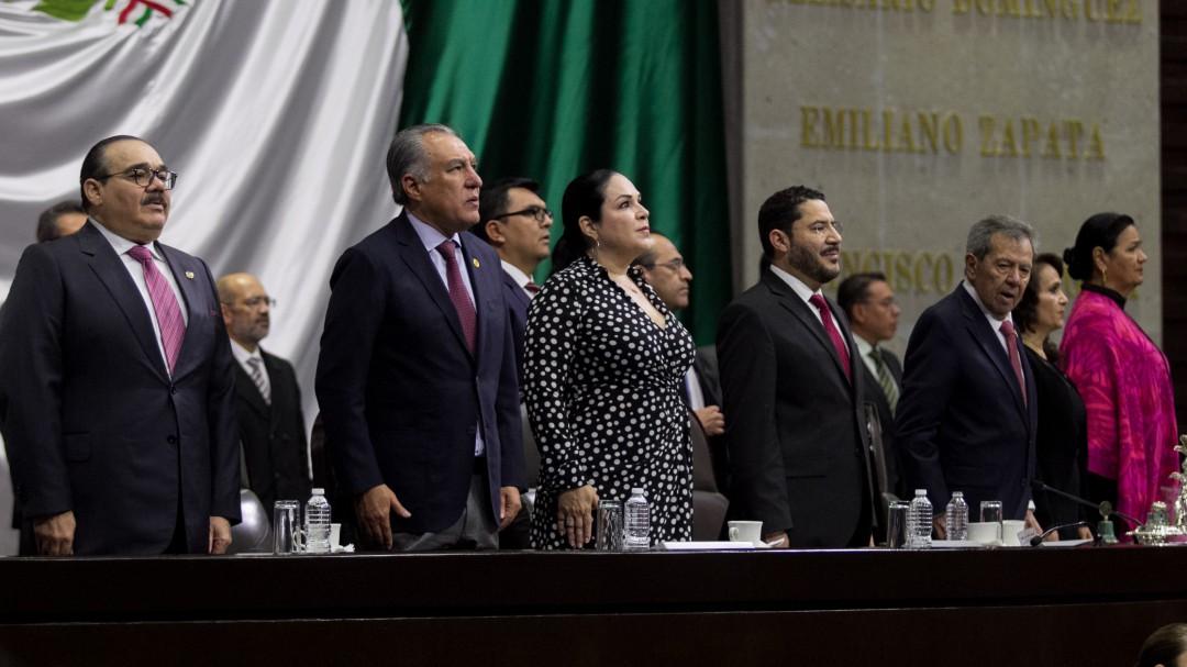 Mónica Fernández nueva presidenta del Senado