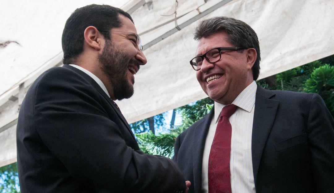 Siguen los encontronazos entre Batres y Monreal en el Senado