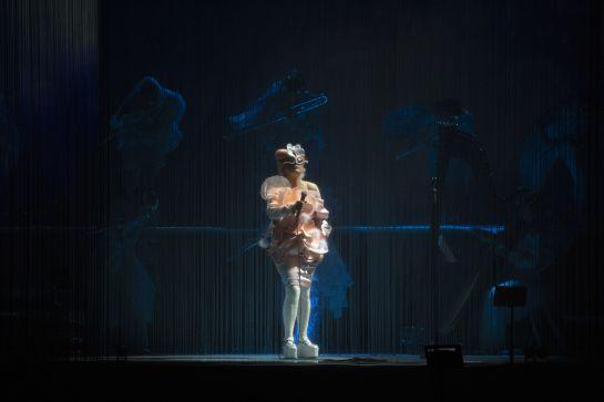 Björk conquistó el Parque Bicentenario