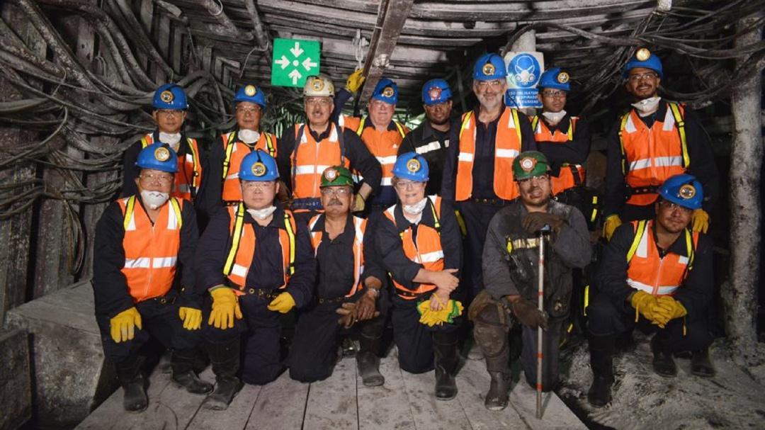 Visitan expertos internacionales mina en Pasta de Conchos