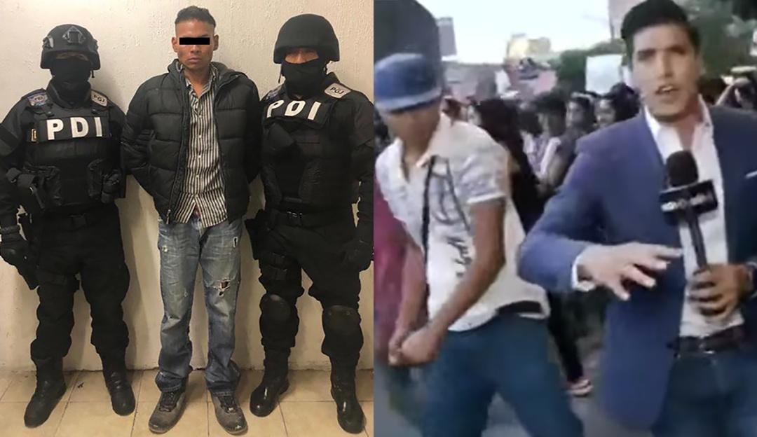 Detienen al sujeto que agredió al reportero Juan Manuel Jiménez