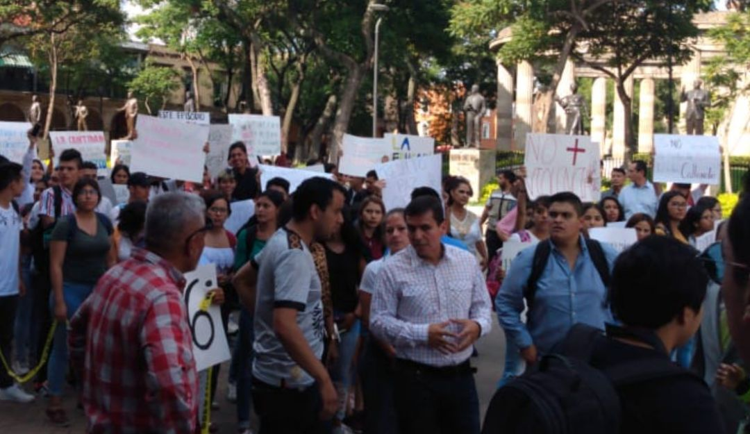 Protestan por intento de violación a estudiante