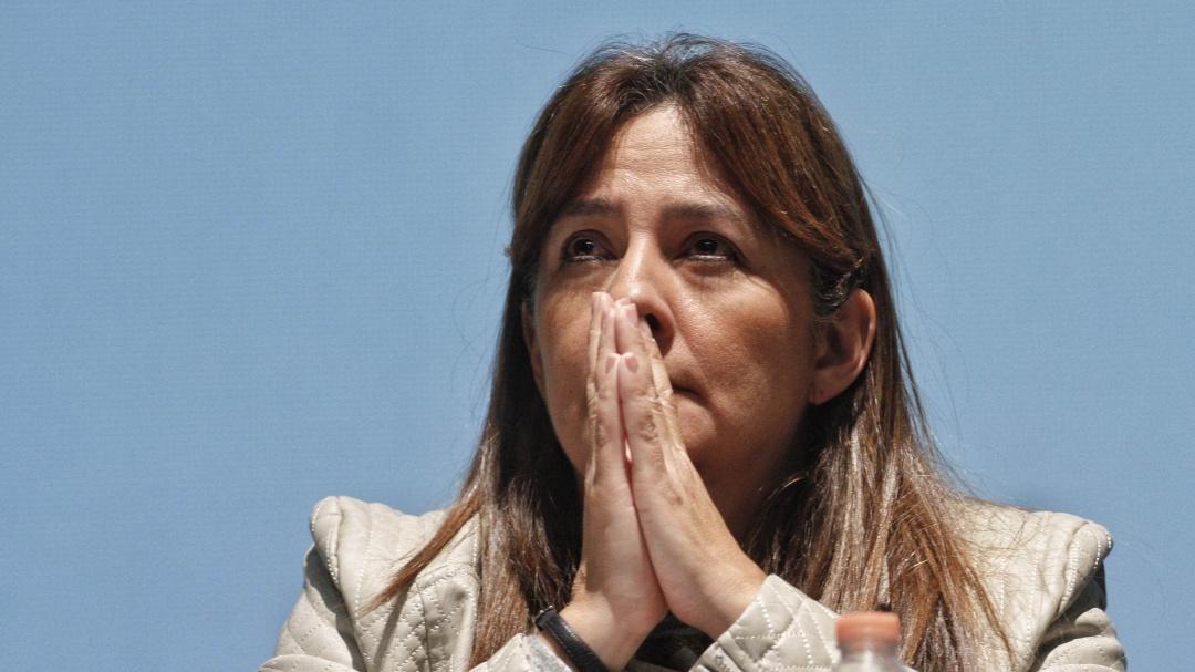 Se reintegra Ángela Buitrago a trabajos de la Comisión para Caso Ayotzinapa