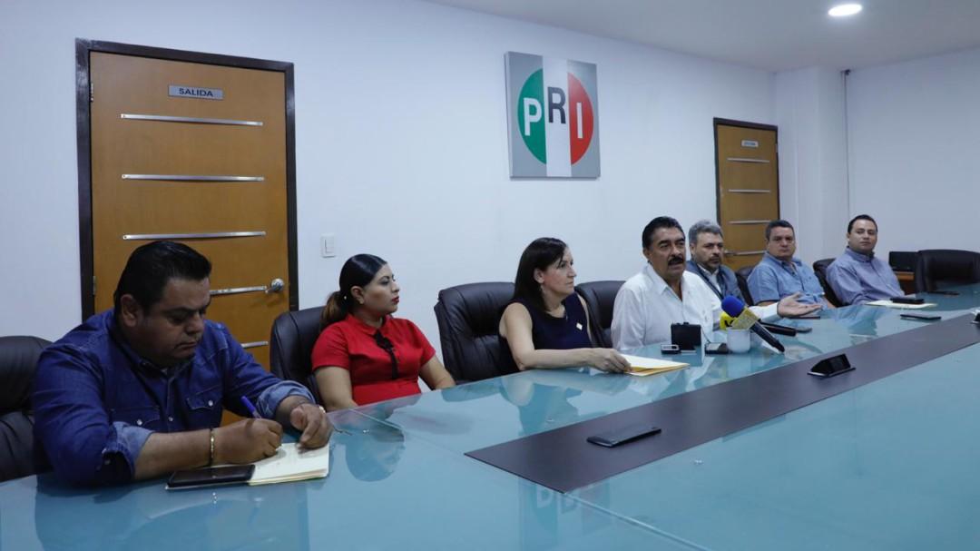 PRI rechaza incrementos en impuestos y servicios para el 2020