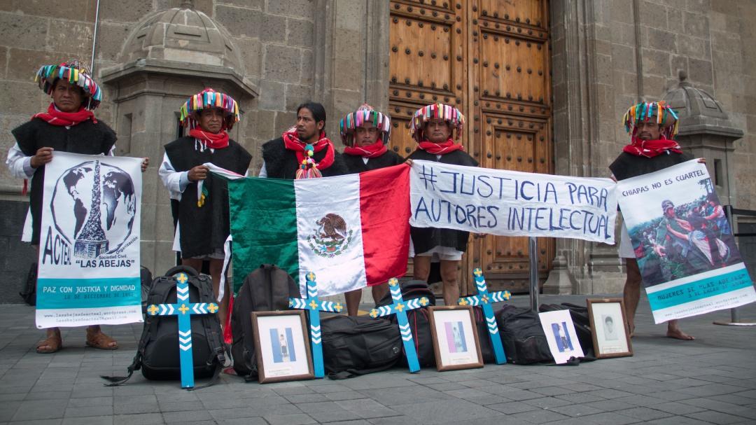 ¡Basta de reuniones! sobrevivientes de Acteal piden resultados