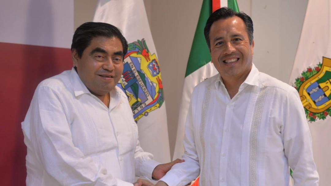 Veracruz y Puebla reforzarán operativos de seguridad en límites estatales