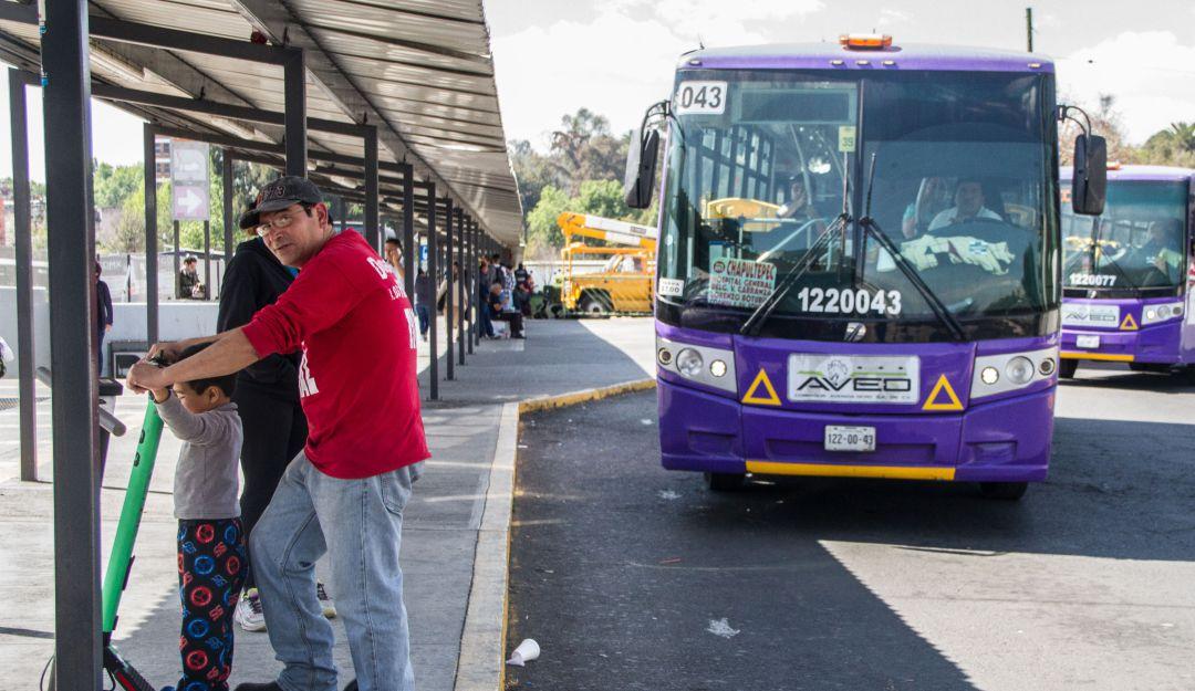 Concesionarios de transporte público piden aumento de 2