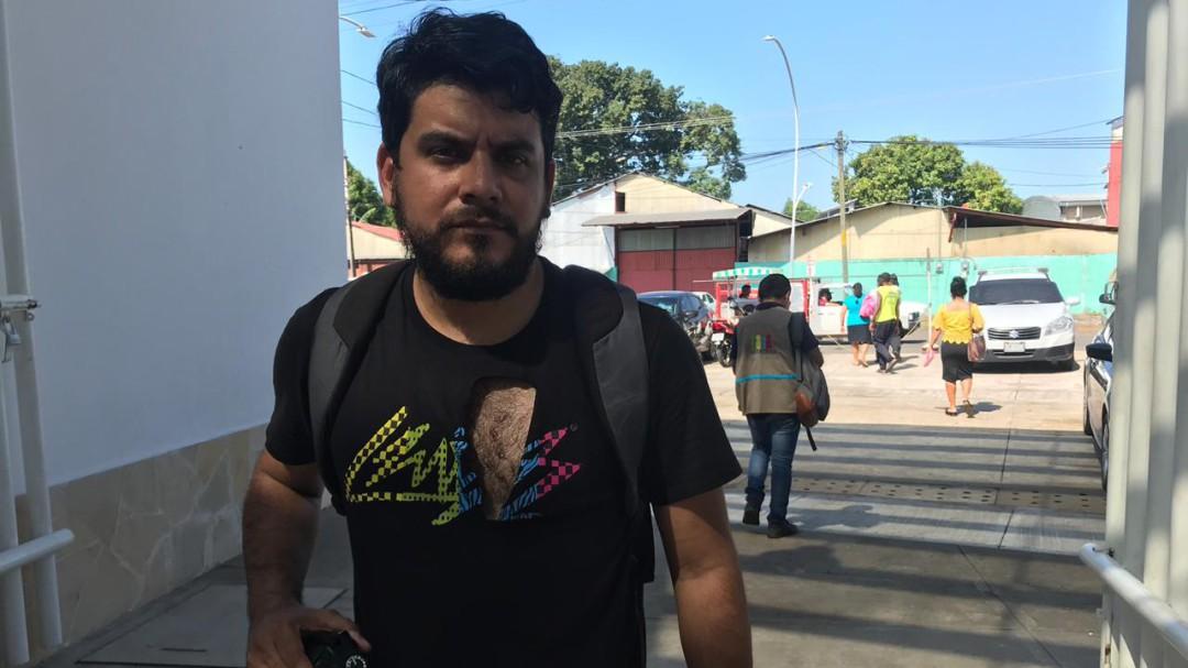 PF golpea a periodista de W Radio en Tapachula
