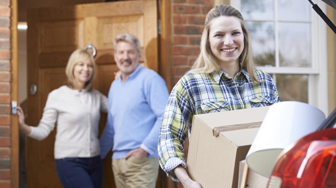 Los padres suelen ser más felices cuando los hijos se van de la casa