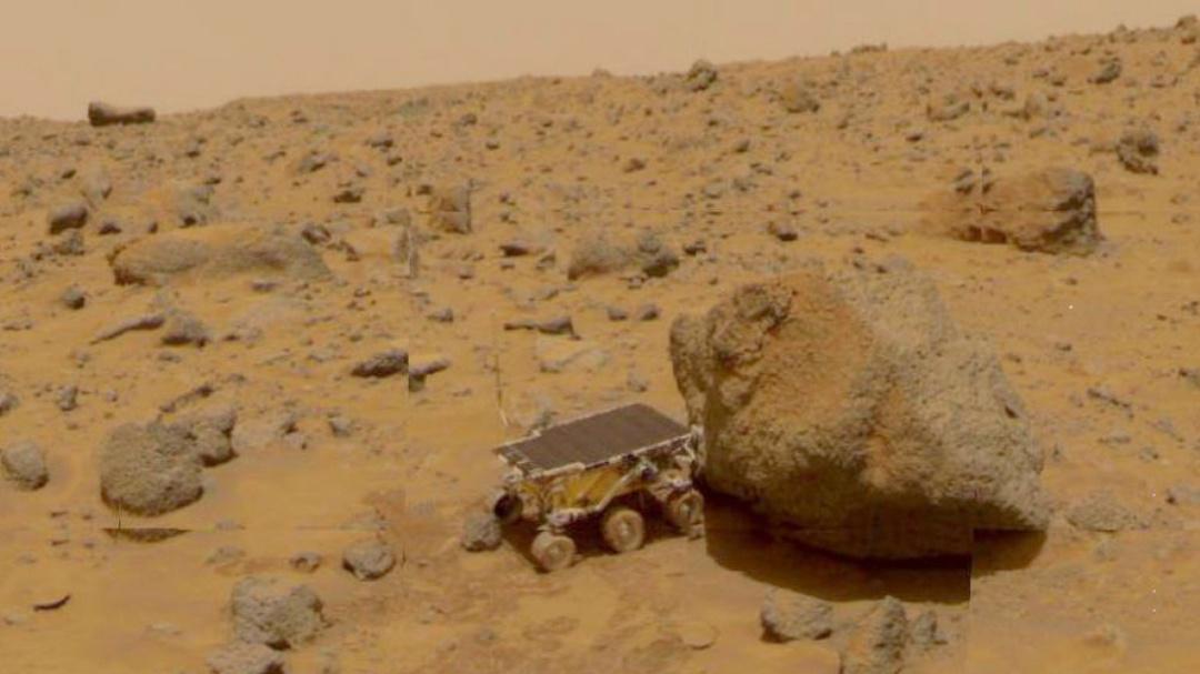 Nombran piedra en Marte: Rolling Stones Rock