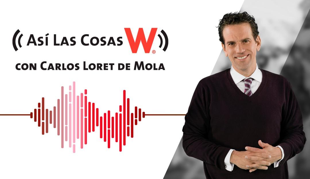 Carlos Loret de Mola por W Radio en Vivo