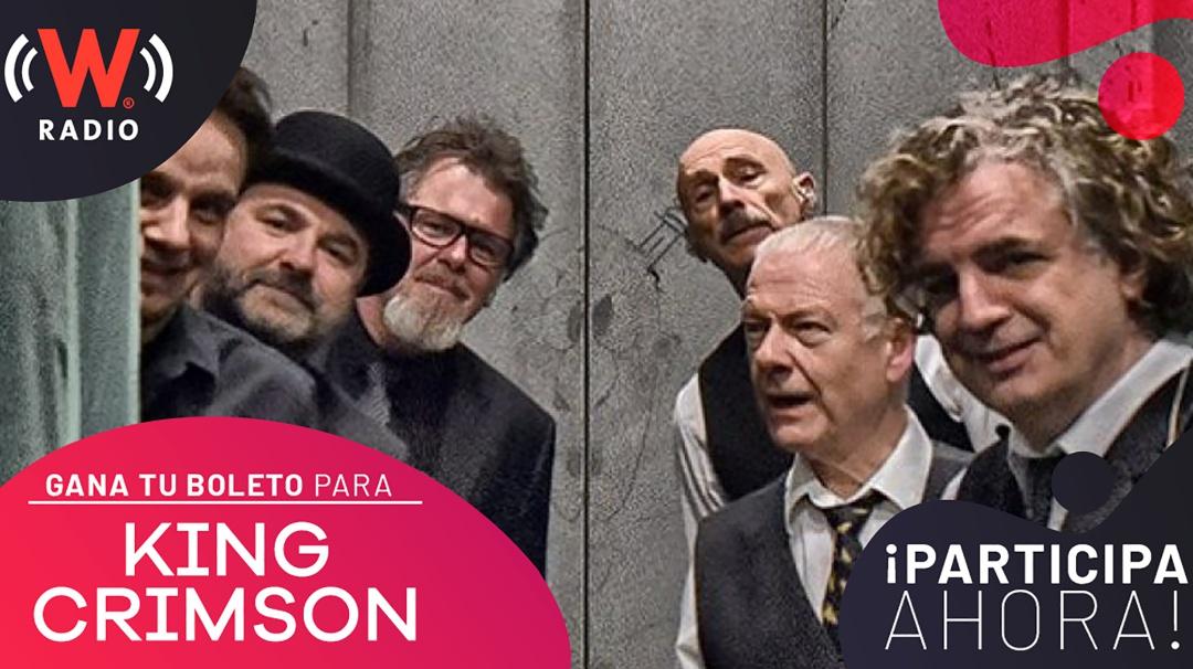 Disfruta de King Crimson con W RADIO