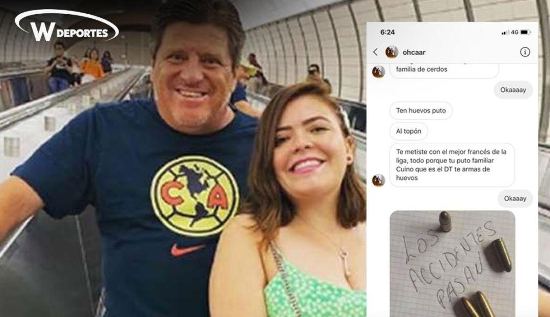 Amenazan de muerte a la hija de Miguel Herrera