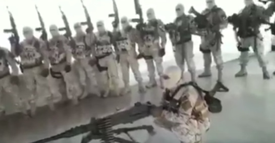 """Captura del video en el que CJNG amenaza a """"El Abuelo"""""""