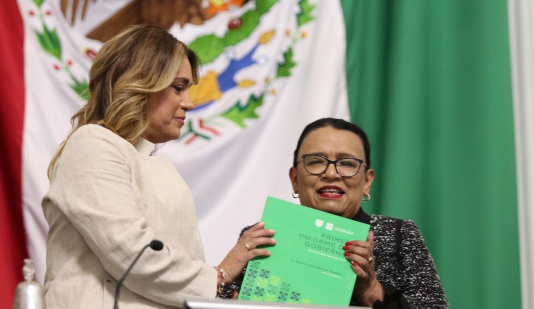 Claudia Sheinbaum entregó su Primer Informe de Gobierno