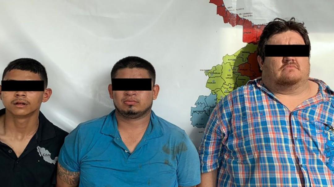 Detienen a 4 en Nuevo Laredo, Tamaulipas