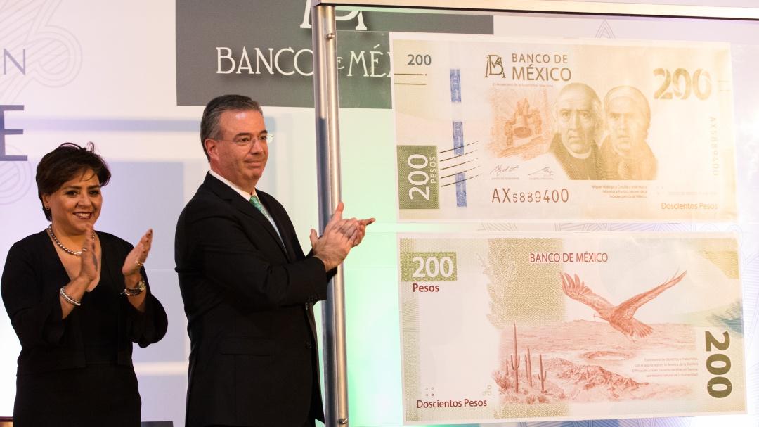 Despide Banxico a Sor Juana en el nuevo billete de 200