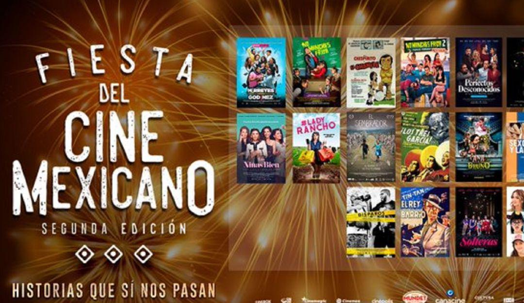Vamos al cine con 20 pesos en septiembre