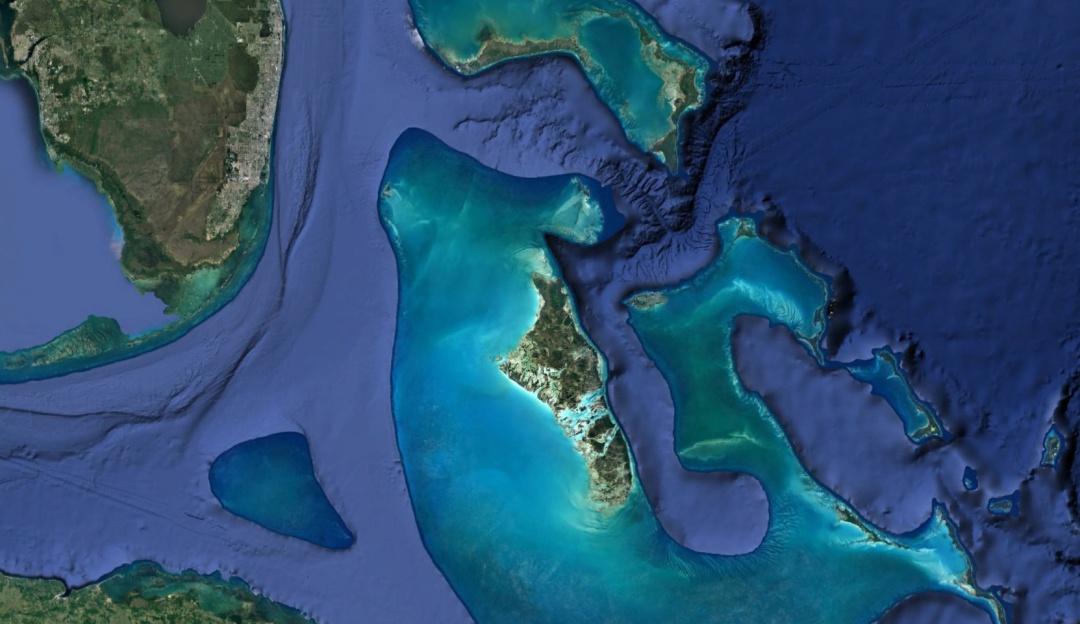 Mar devoró tierra firme de Bahamas tras el paso de Dorian