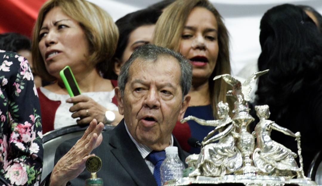 Porfirio Muñoz Ledo renuncia a la Presidencia de San Lázaro