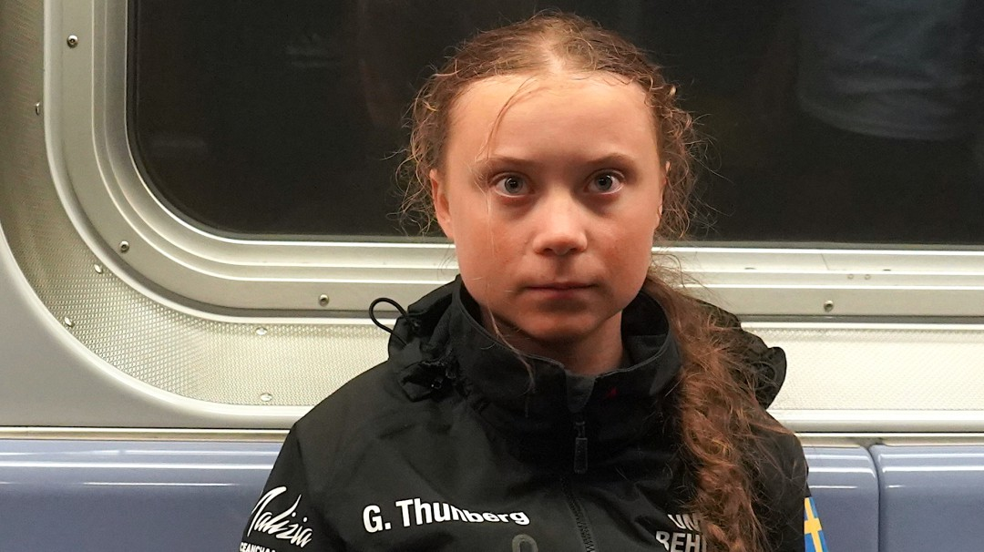 Greta Thunberg llega a NY