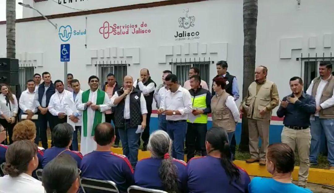 Enrique Alfaro hace gira por municipios de la Ciénega