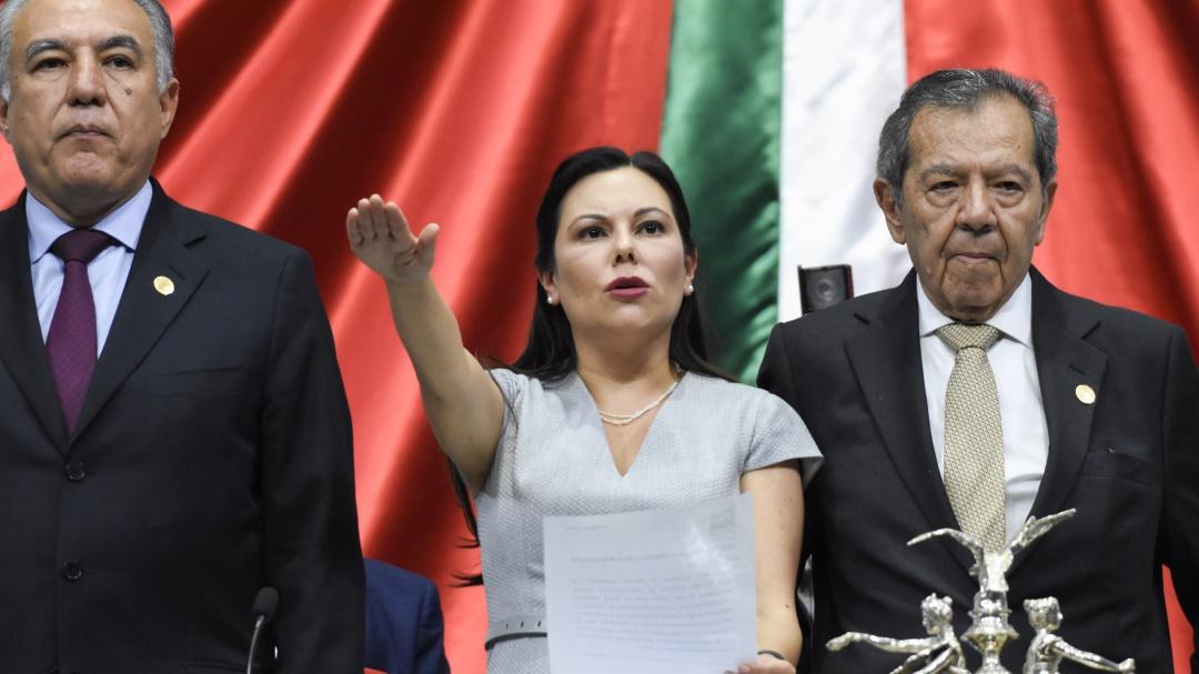 Asume panista Laura Rojas como nueva Presidenta de la Cámara de Diputados