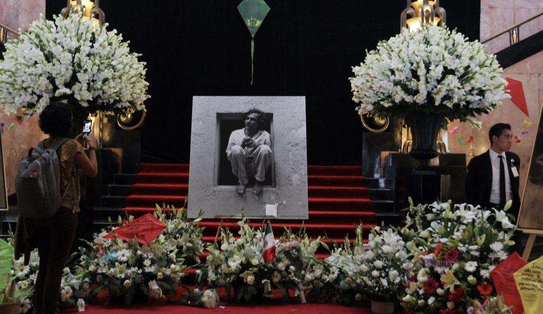 Rinden homenaje a Francisco Toledo en Bellas Artes