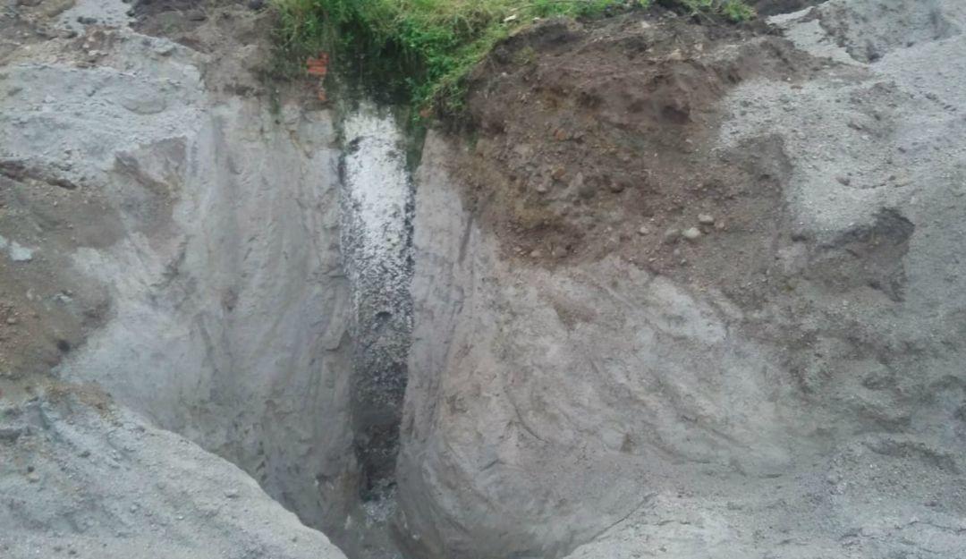 Van 55 bolsas con restos humanos en fosa de la La Primavera