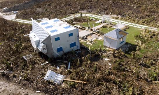 Destrucción de Dorian en las Bahamas