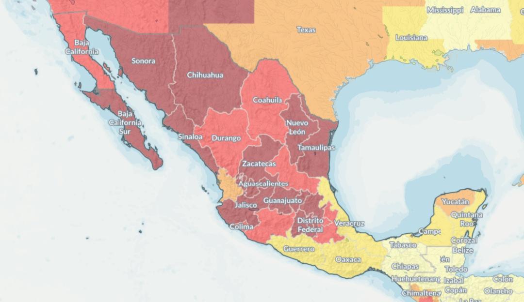 """El """"Día Cero"""" del agua en México: los estados que están cada vez más cerca"""