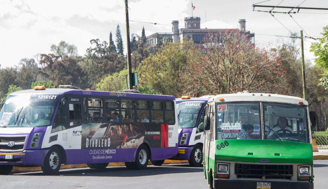 Las rutas de transporte más peligrosas en la CDMX