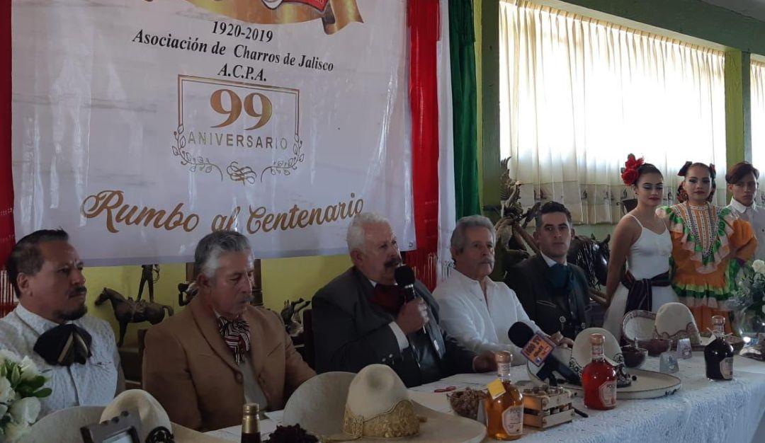 Charros de Jalisco festejarán el centenario de su fundación