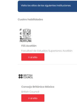 Apprenez l'anglais gratuitement à l'UNAM