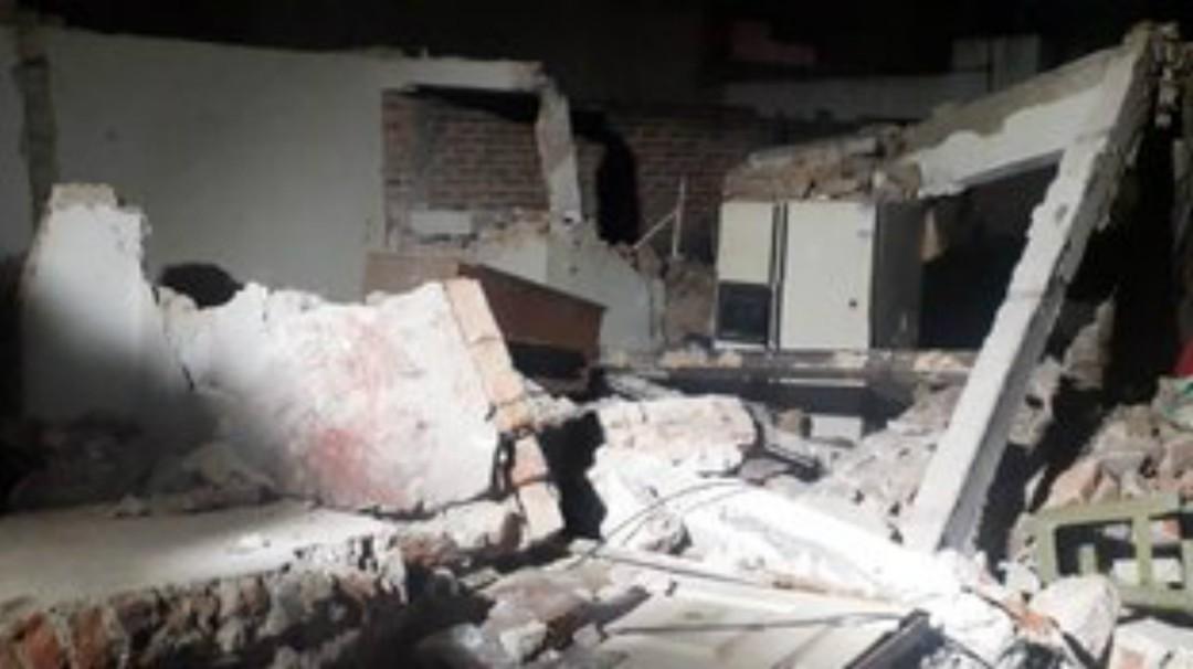 Explosión en casa habitación de Zapopan deja saldo de tres lesionados