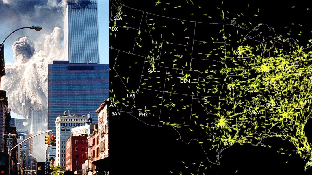 Septiembre 11: Así se paralizó el tráfico aéreo por ataque a Torres Gemelas