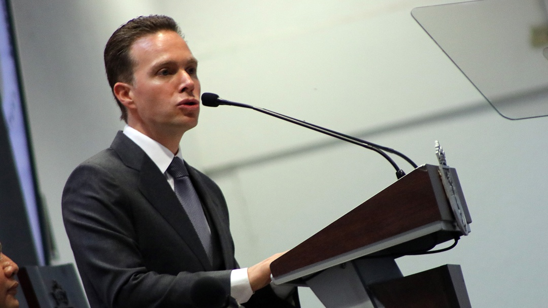 Manuel Velasco es otra vez coordinador del Verde en el Senado