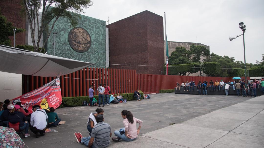 Si no se cumplen demandas, continuaran las movilizaciones: Wilbert Santiago