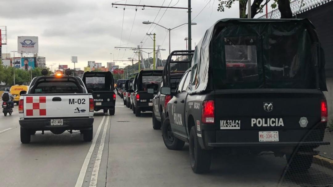 Policías Federales bloquean accesos al AICM
