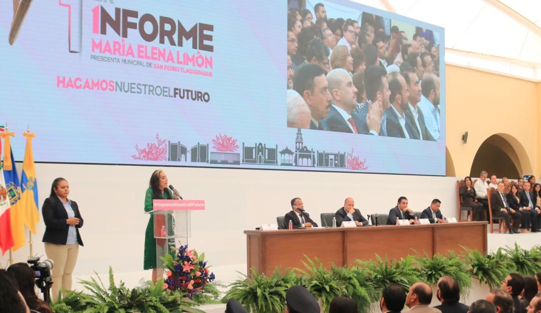 Presenta María Elena Limón su informe de gobierno