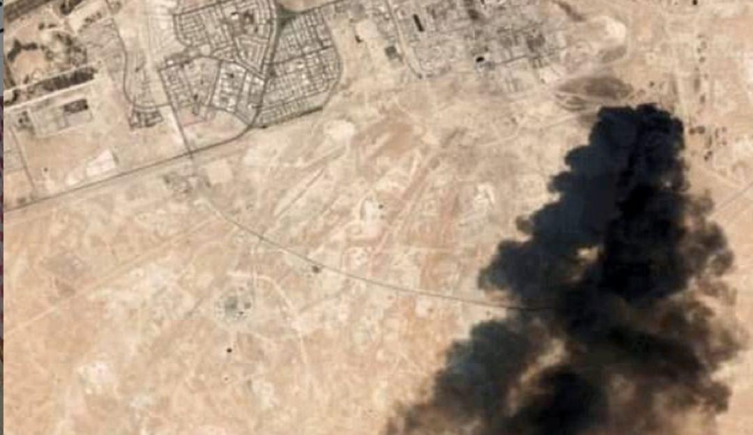 El ataque con drones a Arabia Saudita en imágenes