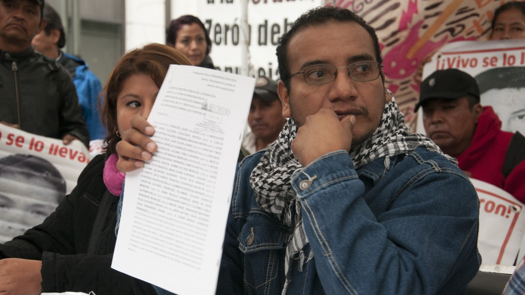 En 10 meses con la nueva Fiscalía no hay avances: Vidulfo Rosales