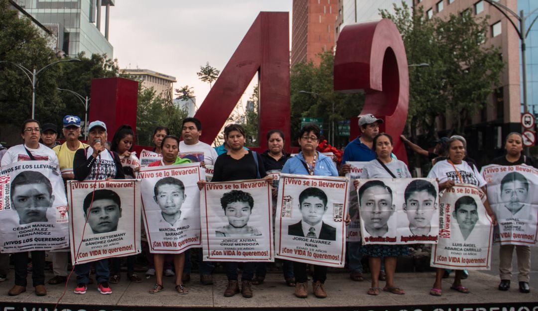 Comenzarán casi de cero las investigaciones por desaparición de los 43