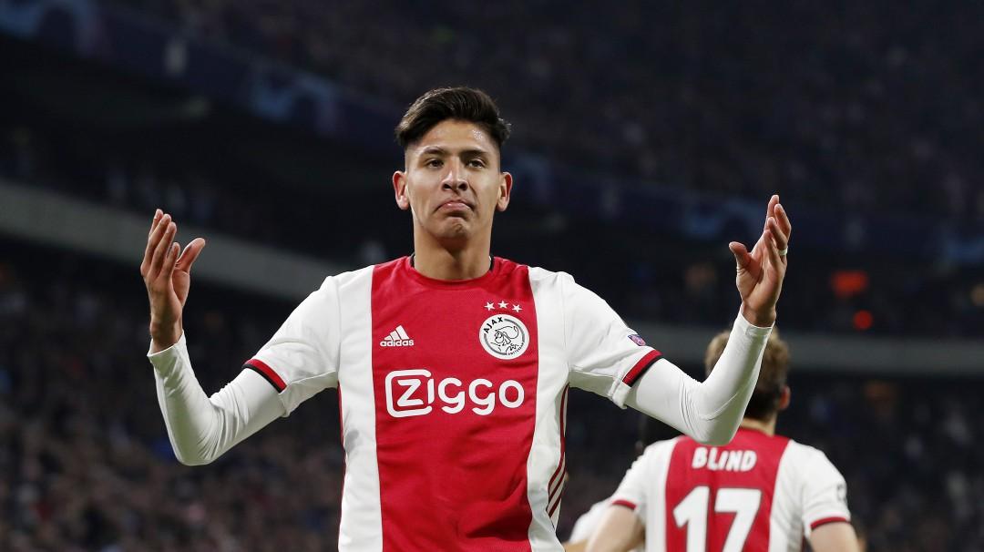 Edson Álvarez está en el once ideal de la Champions