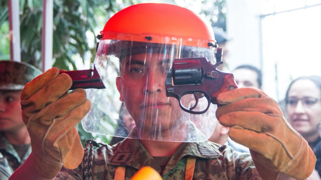 El desarme busca prevenir, no disminuir la violencia: Adriana Contreras