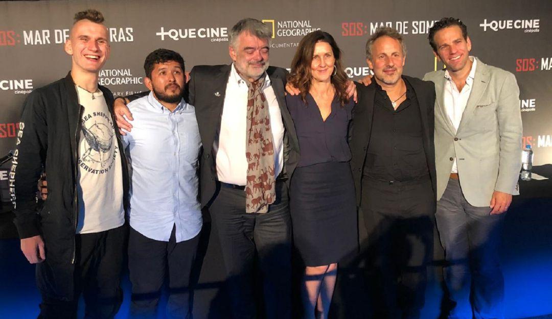 Presenta Carlos Loret documental 'SOS Mar de Sombras'